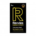 Revvies Tiras Energéticas Cola Limão 40mg cafeína (1x5 Pack)