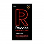Revvies Tiras Energéticas Tropical Hit Charge 40mg cafeína (1x5 Pack)