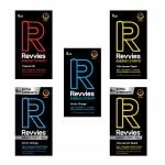 Pack Experiência - Revvies Tiras Energéticas 5 Sabores (5 x 5 pack)