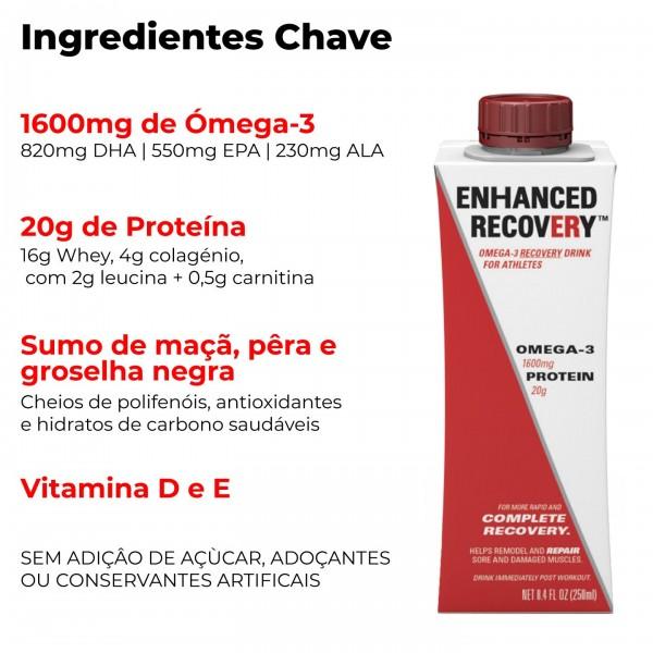 ENHANCED RECOVERY Bebida de Recuperação com Ómega-3