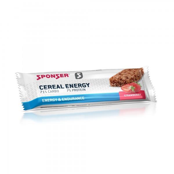 Sponser - Cereal Energy Morango 40g