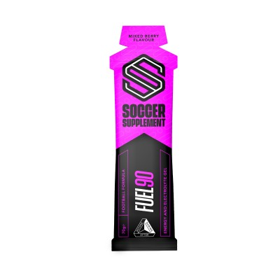 Soccer Supplement Gel energético Fuel90 Frutos Vermelhos