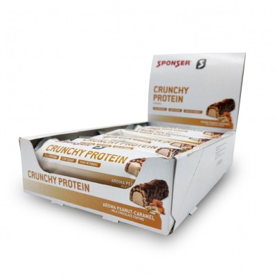 Sponser Protein Bar Crunchy Amendoim-Caramelo 12x50g