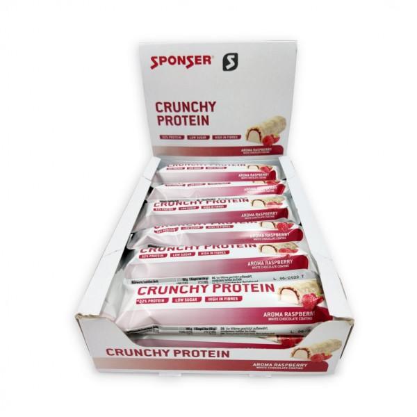 Sponser Protein Bar Crunchy Framboesa 12x50g