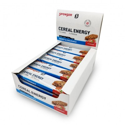 Sponser - Cereal Energy Morango 20x40g