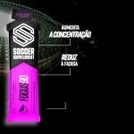 Soccer Supplement Gel energético pré-jogo com cafeína Focus90 Frutos Vermelhos